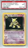 Pokemon Team Rocket Single Dark Alakazam 1st Edition - PSA 9 *23471997*