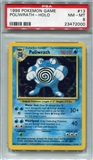 Pokemon Base Set 1 Single Poliwrath - PSA 8 *23472000*