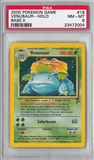 Pokemon Base Set 2 Single Venusaur - PSA 8 *23472004*