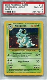 Pokemon Base Set 2 Single Nidoqueen - PSA 8 *23472014*