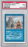 Magic the Gathering Unlimited Single Ancestral Recall - PSA 9 *23472038*