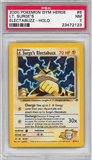 Pokemon Gym Heroes Single Lt. Surge's Electabuzz - PSA 7 *23472123*