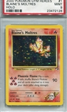 Pokemon Gym Heroes Single Blaine's Moltres - PSA 9 *23472126*