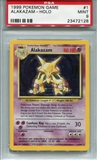 Pokemon Base Set 1 Single Alakazam - PSA 9 *23472128*