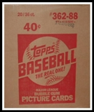 1988 Topps Baseball Wax 20-Box Case