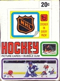 1979/80 Topps Hockey Wax Box