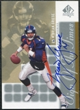 2000 Upper Deck SP Authentic Sign of the Times #BG Brian Griese Autograph