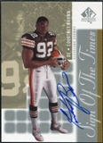 2000 Upper Deck SP Authentic Sign of the Times #CO Courtney Brown Autograph