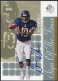 2000 Upper Deck SP Authentic Sign of the Times #DW Dez White Autograph