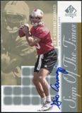 2000 Upper Deck SP Authentic Sign of the Times #GC Giovanni Carmazzi Autograph