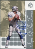 2000 Upper Deck SP Authentic Sign of the Times #JK Jon Kitna Autograph