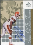 2000 Upper Deck SP Authentic Sign of the Times #JO Kevin Johnson Autograph