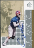 2000 Upper Deck SP Authentic Sign of the Times #MO Corey Moore Autograph