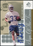 2000 Upper Deck SP Authentic Sign of the Times #MW Michael Wiley Autograph