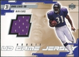 2000 Upper Deck Game Jersey #JL Jamal Lewis