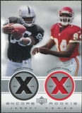 2000 Upper Deck Encore Rookie Combo Jerseys Jerry Porter Sylvester Morris #RC3