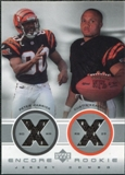 2000 Upper Deck Encore Rookie Combo Jerseys Peter Warrick Curtis Keaton #RC5