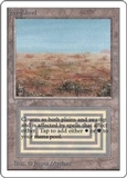 Magic the Gathering Unlimited Single Scrubland - NEAR MINT (NM)