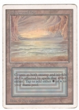 Magic the Gathering Unlimited Single Underground Sea - MODERATE PLAY (MP)