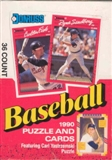 1990 Donruss Baseball Canadian Wax Box