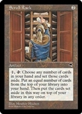 Magic the Gathering Tempest Single Scroll Rack - MODERATE PLAY (MP)
