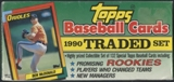1990 Topps Traded & Rookies Baseball Rare Retail Set
