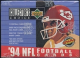 1994 Upper Deck Collector's Choice Football Retail Box
