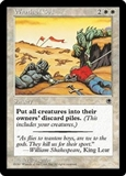 Magic the Gathering Portal 1 Single Wrath of God - SLIGHT PLAY (SP)