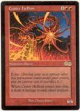 Magic the Gathering Urza's Saga Single Crater Hellion UNPLAYED (NM/MT)