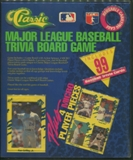 1990 Classic Major League Baseball MLB Trivia Board Game
