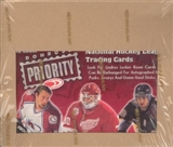 1997/98 Donruss Priority Hockey Hobby Box