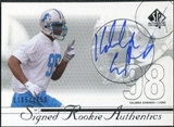 2002 Upper Deck SP Authentic #198 Kalimba Edwards Autograph /1150