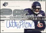 2002 Upper Deck SPx Supreme Signatures #SSAT Anthony Thomas