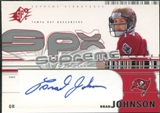 2002 Upper Deck SPx Supreme Signatures #SSBJ Brad Johnson Autograph