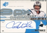 2002 Upper Deck SPx Supreme Signatures #SSCW Chris Weinke