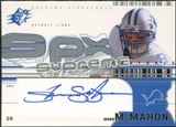 2002 Upper Deck SPx Supreme Signatures #SSMM Mike McMahon