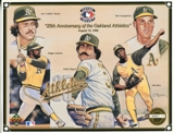 1992 Upper Deck Oakland A's 25th Anniversary Commemorative Sheet