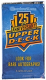 2014 Upper Deck 25th Anniversary Promotional Pack
