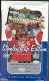 1999/00 Upper Deck MVP Stanley Cup Edition Hockey Hobby Box