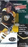 1999/00 Upper Deck Ultimate Victory Hockey Prepriced Box