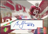 2003 Upper Deck SPx Supreme Signatures #SSBJ Bryant Johnson Autograph