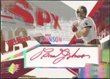 2003 Upper Deck SPx Supreme Signatures #SSBR Brad Johnson Autograph