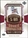 2003 Upper Deck UD Patch Collection Gold Patches #131 Brooks Bollinger RC /25