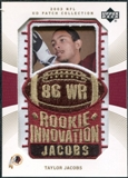 2003 Upper Deck UD Patch Collection Gold Patches #144 Taylor Jacobs RC /25