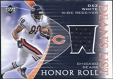 2003 Upper Deck Honor Roll Dean's List Jersey #DLDW Dez White SP