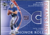 2003 Upper Deck Honor Roll Dean's List Jersey #DLKC Kerry Collins