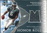 2003 Upper Deck Honor Roll Dean's List Jersey #DLMC Donovan McNabb SP