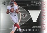 2003 Upper Deck Honor Roll Dean's List Jersey #DLMV Michael Vick SP