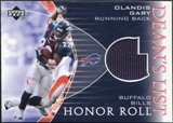 2003 Upper Deck Honor Roll Dean's List Jersey #DLOG Olandis Gary