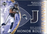 2003 Upper Deck Honor Roll Dean's List Jersey #DLQJ Quentin Jammer